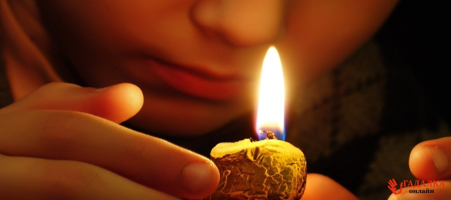 Гадание на фото любимого с помощью свечек